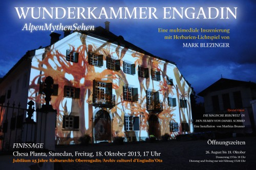 WUNDERKAMMER ENGADIN Finissage