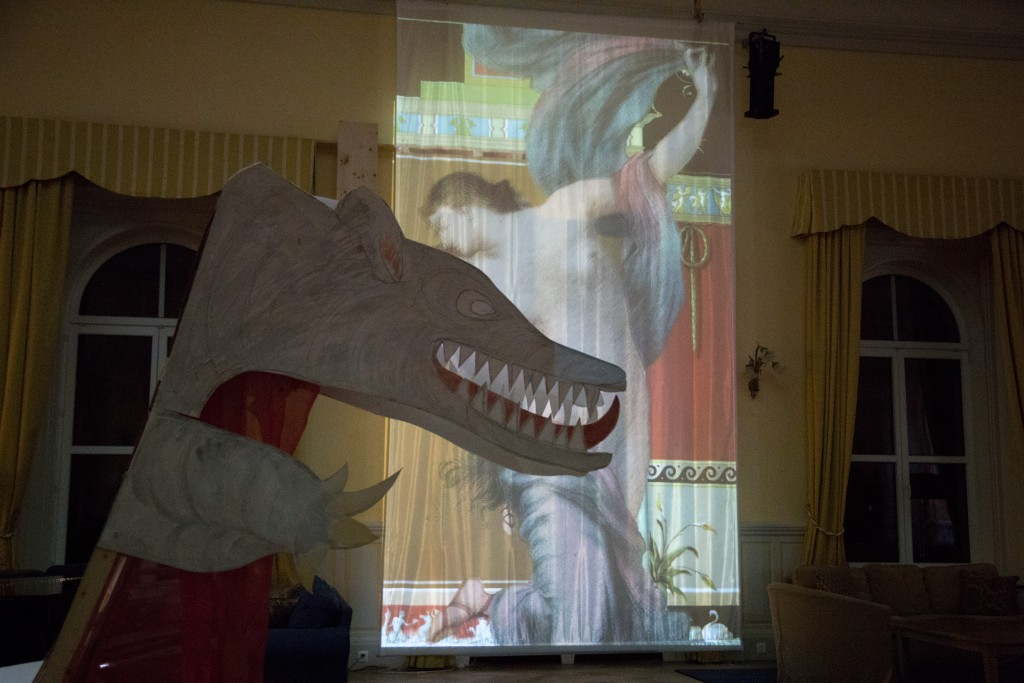 Le dragon de projection