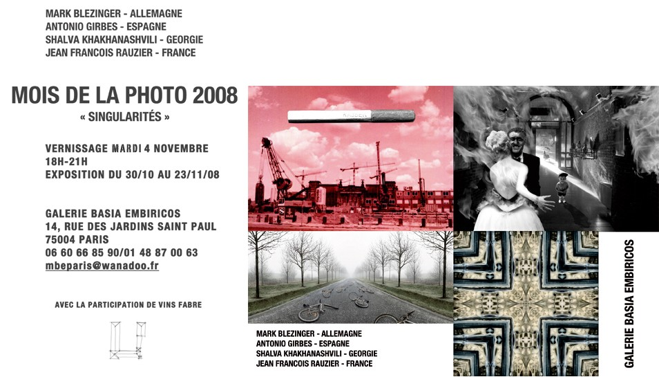 Invitation Galerie Basia Embiricos
