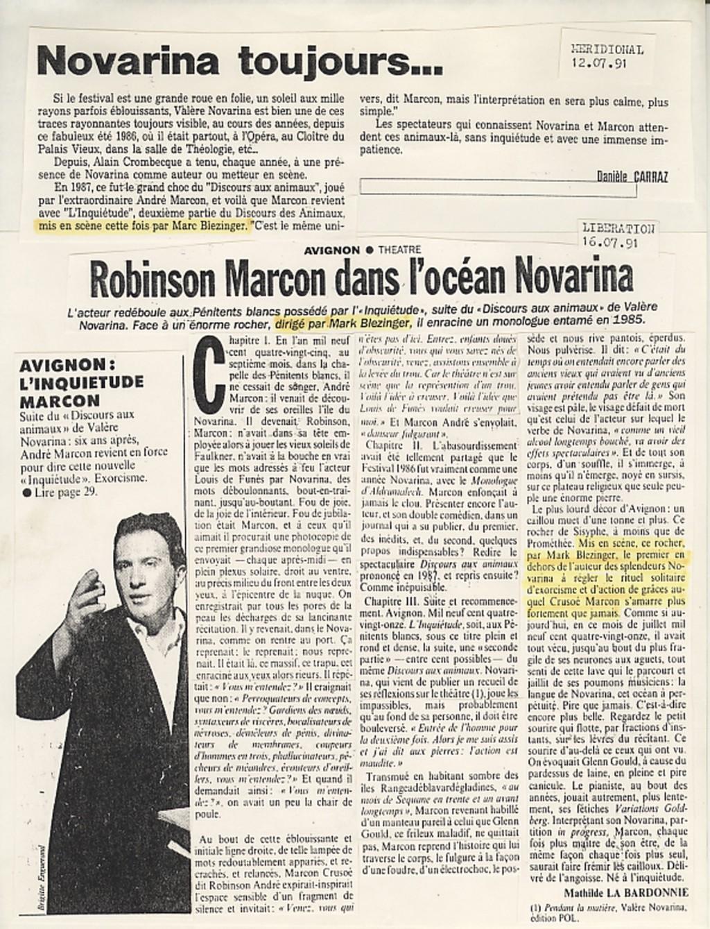 Libération 1991