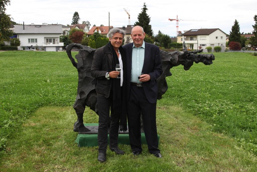 Ueli Eberhardt und Mark Blezinger
