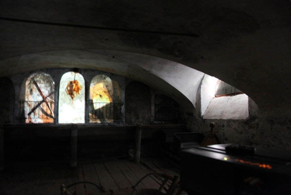 Hexenfilm in der Rimessa