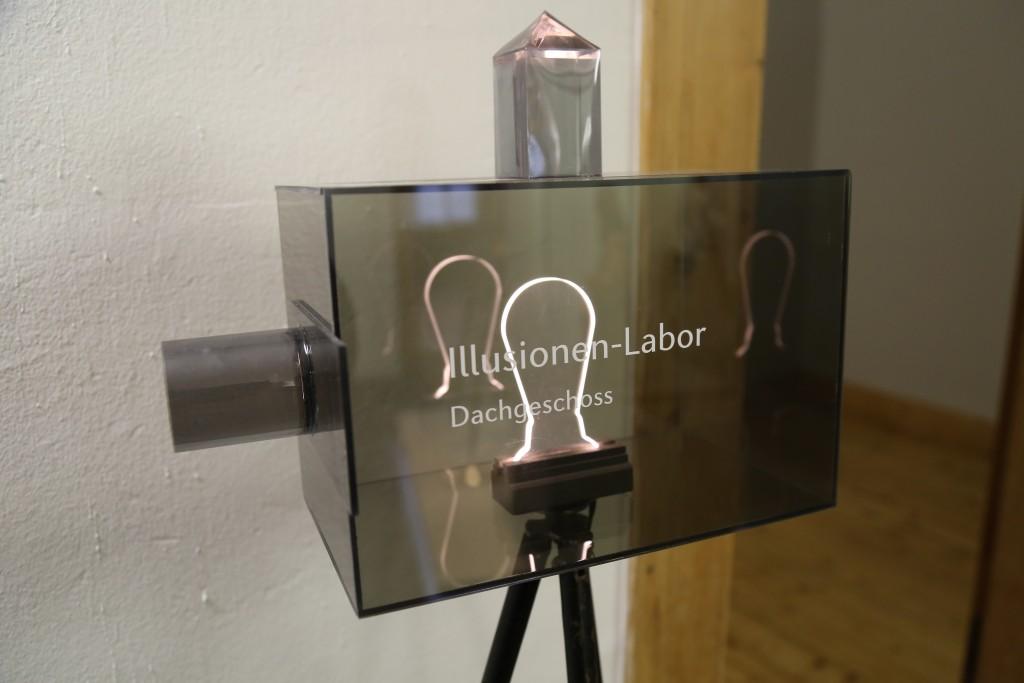 Laterne Illusionen Labor