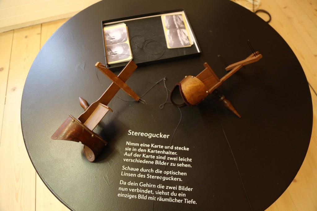 Stereoskope zum Ausprobieren